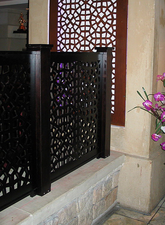 Pierced Panel Screen
