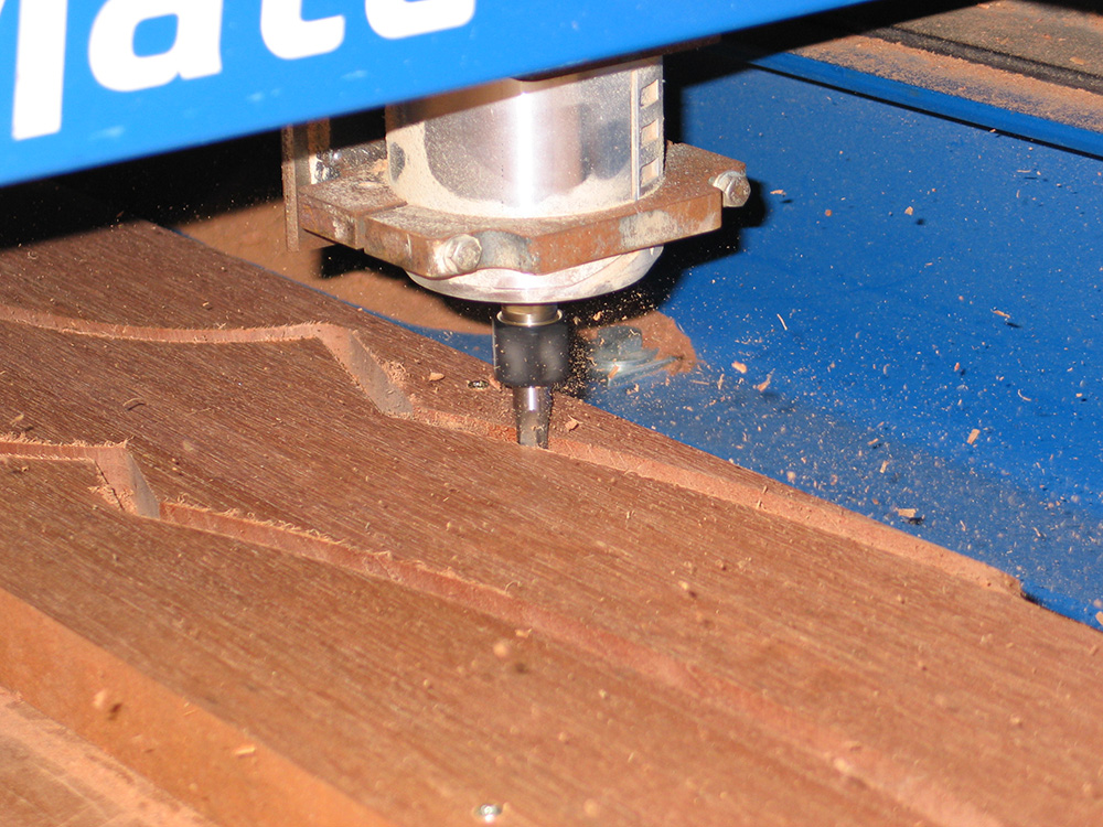 router cutting