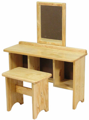 DP109 Dressing Table with Mirror Image