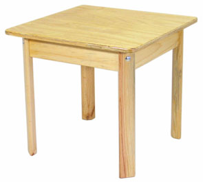TC101 School Table 60x60x55 Image