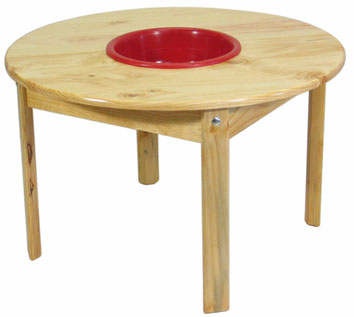 TC103 Puzzle Table 90 with bowl Image