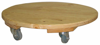 CO102 Round Scooter Board HD wheels Image