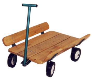WT106 Flat Bed Wagon Image