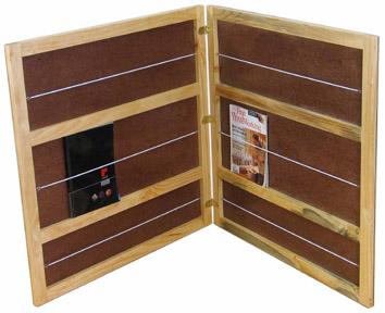 SE104 Flat Book Rack-Folding Image