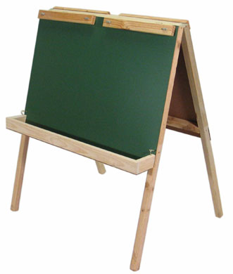 AC107 Large Double Easel with Paint Boxes Image